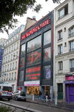 Erotic supermarkets in Paris, France Royalty Free Stock Images
