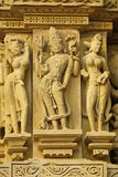Erotic Temple Carvings Royalty Free Stock Photo