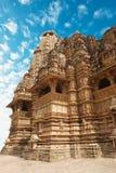 Erotic Temple in Khajuraho Royalty Free Stock Image