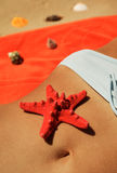 Erotisch strand stock foto's