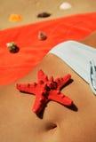 erotisk strand Arkivfoton