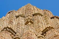 Erotyczna świątynia w Khajuraho, India obrazy stock