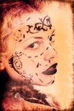 erotyczna twarz obrazy stock