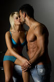 erotyk Fotografia Royalty Free