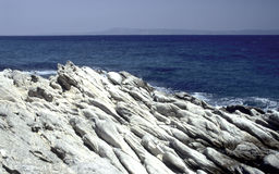 erozi morze Obrazy Royalty Free