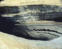 erozj skały Obrazy Royalty Free