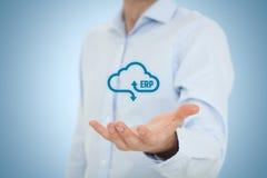 ERP как обслуживание облака стоковое фото