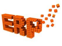 ERP иллюстрация вектора