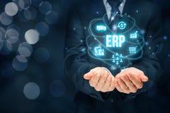 ERP do planeamento do recurso da empresa imagens de stock royalty free