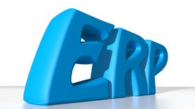 ERP - Enterprise Resource Planning Stock Image