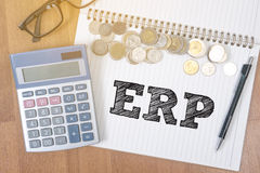 ERP Royalty Free Stock Photography