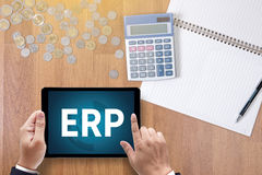 ERP Royalty Free Stock Image
