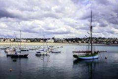 Erquy, панцырь ` CÃ'tes-d, Бретань, Франция Стоковое фото RF