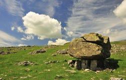 Errático geológico, Norber, Yorkshire Fotos de archivo libres de regalías