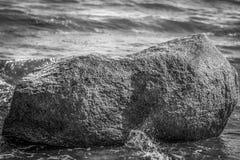 Erratic block - Baltic Sea Royalty Free Stock Image