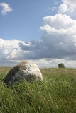 Erratic boulder Royalty Free Stock Image