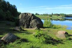 Erratic boulders Royalty Free Stock Photos