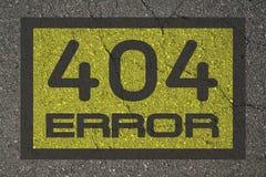 Erreur 404 Photos libres de droits