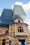 Neue und alte Architektur Stockbilder