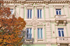 Errichtende neoklassische Art Stockbilder