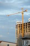 Errichtende neue konkrete Häuser Lizenzfreies Stockbild