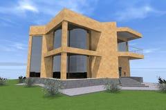 Errichtendes residental Design 3D Vektor Abbildung