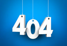 Erro 404 Imagem de Stock Royalty Free