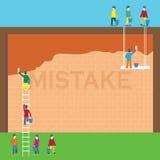 erro Ilustração Stock
