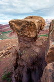 Erroded rock formation Royalty Free Stock Image