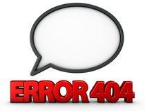 Error 404 Imagenes de archivo