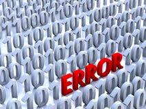 Error Stock Photo