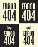 Error 404 Fotos de archivo libres de regalías