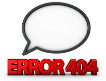 Error 404 Stock Images
