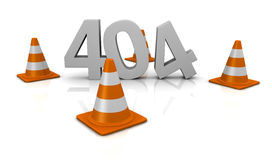 Error 404 concept Stock Images