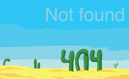 Error 404 page not found. Site royalty free illustration