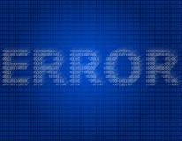 Error Stock Image