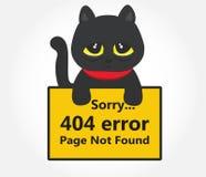 Error 404 Foto de archivo