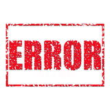 Error. Royalty Free Stock Photography