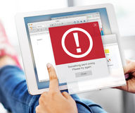 Error Alert Failure Icon Problem Concept Royalty Free Stock Images