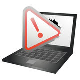 Error computer Royalty Free Stock Photos