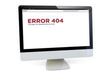 Error 404computer Stock Images