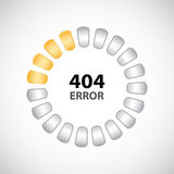 404 error concept Royalty Free Stock Photography