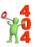 Error 404 Royalty Free Stock Image