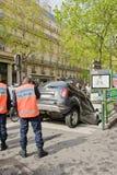 Error del programa piloto en París imagenes de archivo
