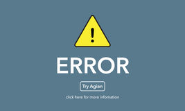 Error file not found on website page.  Royalty Free Stock Photo