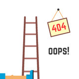 Error 404 funny image Royalty Free Stock Photos