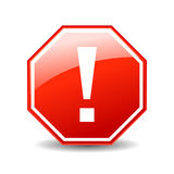 Error icon Stock Photos