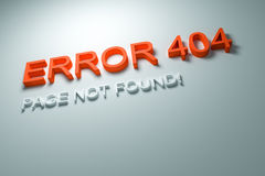 Error 404 Royalty Free Stock Image