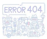 Error Infographics Ilustración del vector Imagen de archivo libre de regalías