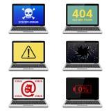 Error Laptops Stock Image
